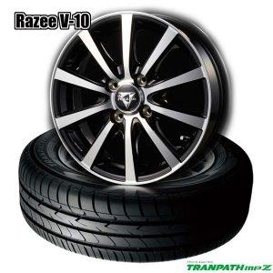 【ミニバン用タイヤホイールセット】トーヨー トランパスmpZとドレスアップホイール《Rzaee V-10》のタイヤホイールセットを超特価で新発売開始しました!