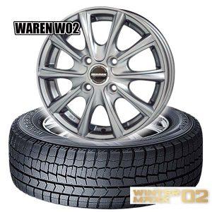 スタッドレスタイヤセット|WINER MAXX02