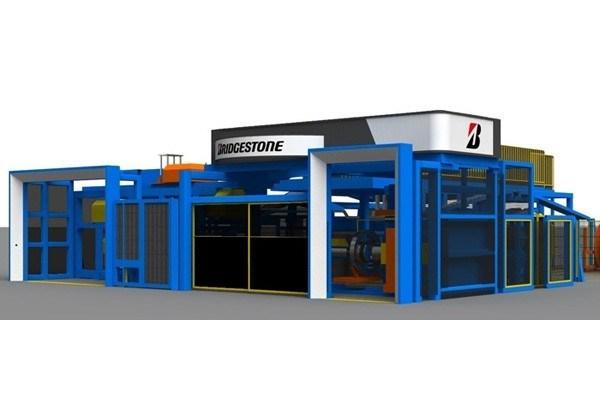 ブリヂストン独自のモノづくりICTを搭載 最新鋭タイヤ成型システム「EXAMATION」を彦根工場に初導入