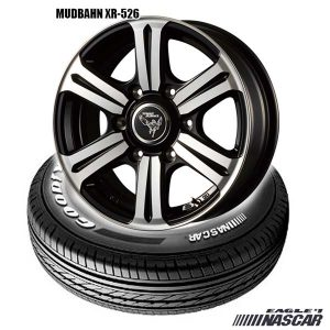 #1 NASACAR & MUDBAHN XR-526|タイヤホイールセット
