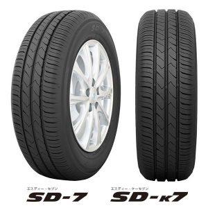 【新発売】スタンダード低燃費タイヤ トーヨーSD-7を新規発売開始!