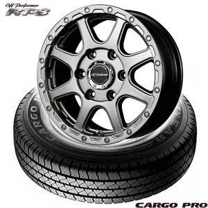 【新発売】ハイエース用タイヤホイールセット、グッドイヤー CARGO PRO & OFFPERFORMER RT-8
