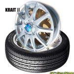 【限定1set】軽自動車用タイヤホイールセット〈155/65R13 73H〉グッドイヤーGT-EcoStage & KRITⅡ