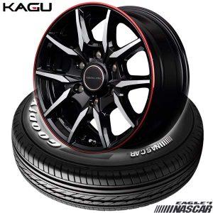 【新発売】ハイエース用15、16インチセット、グッドイヤー EAGLE #1 NASCAR & VERTEC ONE KAGU