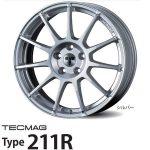 【新発売】輸入車用アルミホイールTECMAG Type 211R<テクマグ タイプ211R>を新規発売開始
