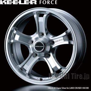 【新価格】ランドクルーザー用アルミホイール、KEELER FORCE〈キーラーフォース〉新価格で発売開始