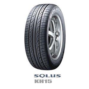 【数量限定特価タイヤ】クムホSOLUS KH15《スタンダード》を数量限定超特価で発売中!