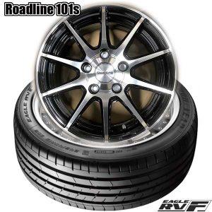 【限定1set】ミニバン用タイヤホイールセット、グッドイヤー EAGLE RV-F & Roadline 101s