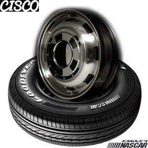 【新発売】ハイエース用15、16インチセット、グッドイヤー EAGLE #1 NASCAR & GARCIA CISCO
