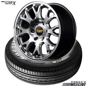 ハイエース用タイヤホイールセット、グッドイヤー EAGLE #1 NASCAR〈イーグル #1ナスカー〉& RMP 028FX