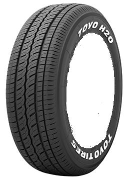ハイエース用タイヤホイールセット|トーヨーTOYO H20 & WEDS KEELERFORCE