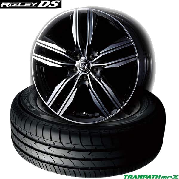 トーヨーTRANPATH mpZ &WEDS RIZLEY DS|ミニバン用タイヤホイール4本セット