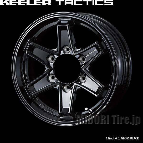 ハンコックWINTER RW06 & KEELER TACTICS|キャラバン用スタッドレスタイヤホイール4本セット
