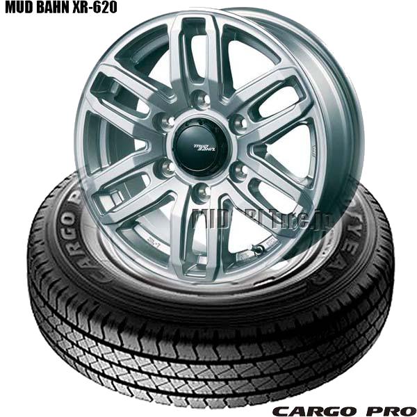 グッドイヤーCARGO PRO&MUD BAHN XR-620|キャラバン用タイヤホイール4本セット