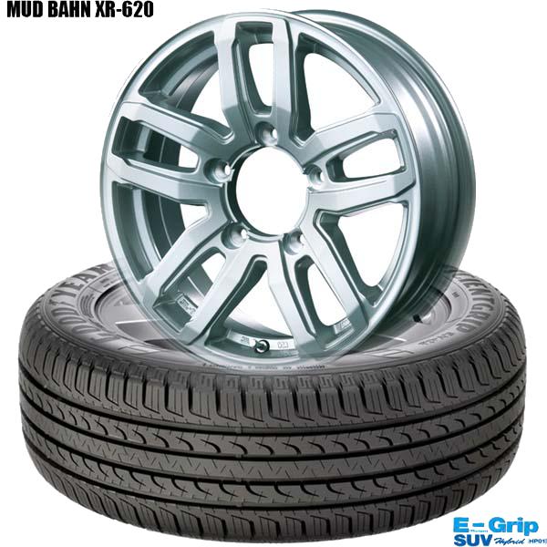 グッドイヤーEfficientGrip SUV HP01 &LMUD BAHN XR-620|ジムニー用タイヤホイール4本セット
