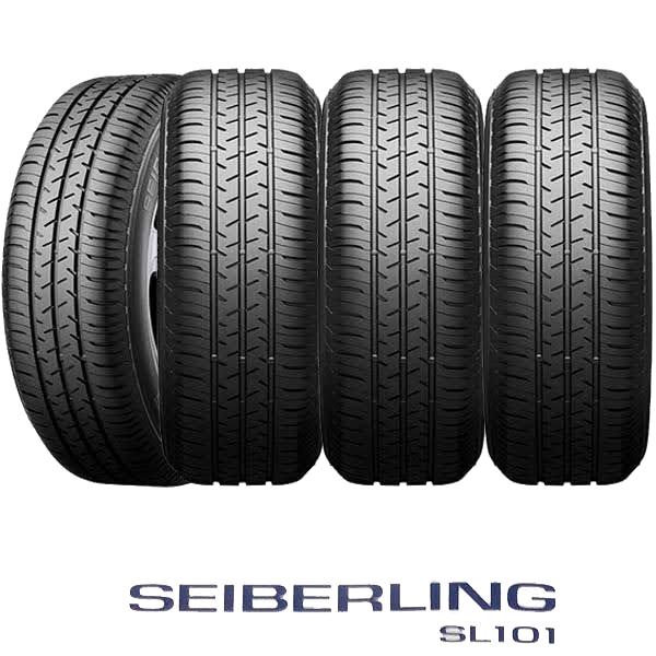 SEIBERLING SL101&G.speed G-05|タイヤ&ブラックホイール4本セット
