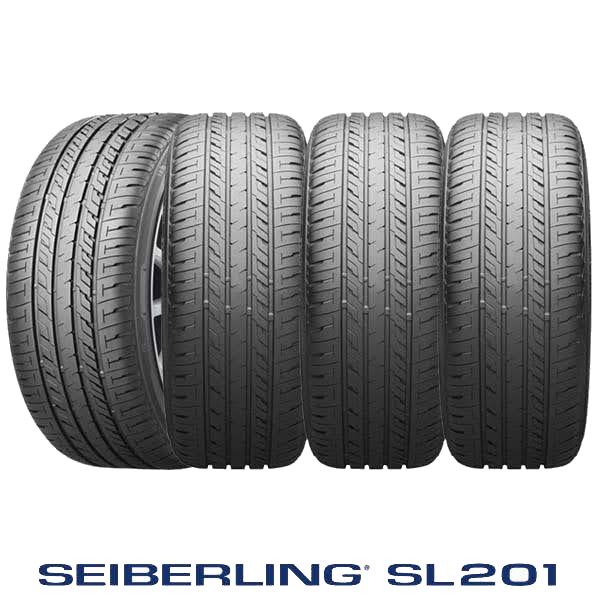 SEIBERLING SL201&G.speed G-05 タイヤ&ブラックホイール4本セット