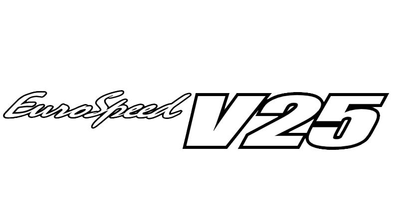 EuroSpeed V25〈ブラックポリッシュ〉 ドレスアップアルミホイール