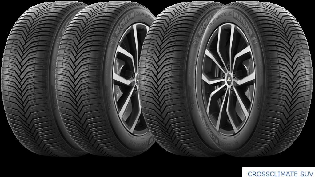 ミシュラン MICHELIN CROSSCLIMATE SUV|雪も走れるSUV夏タイヤ|新規発売開始